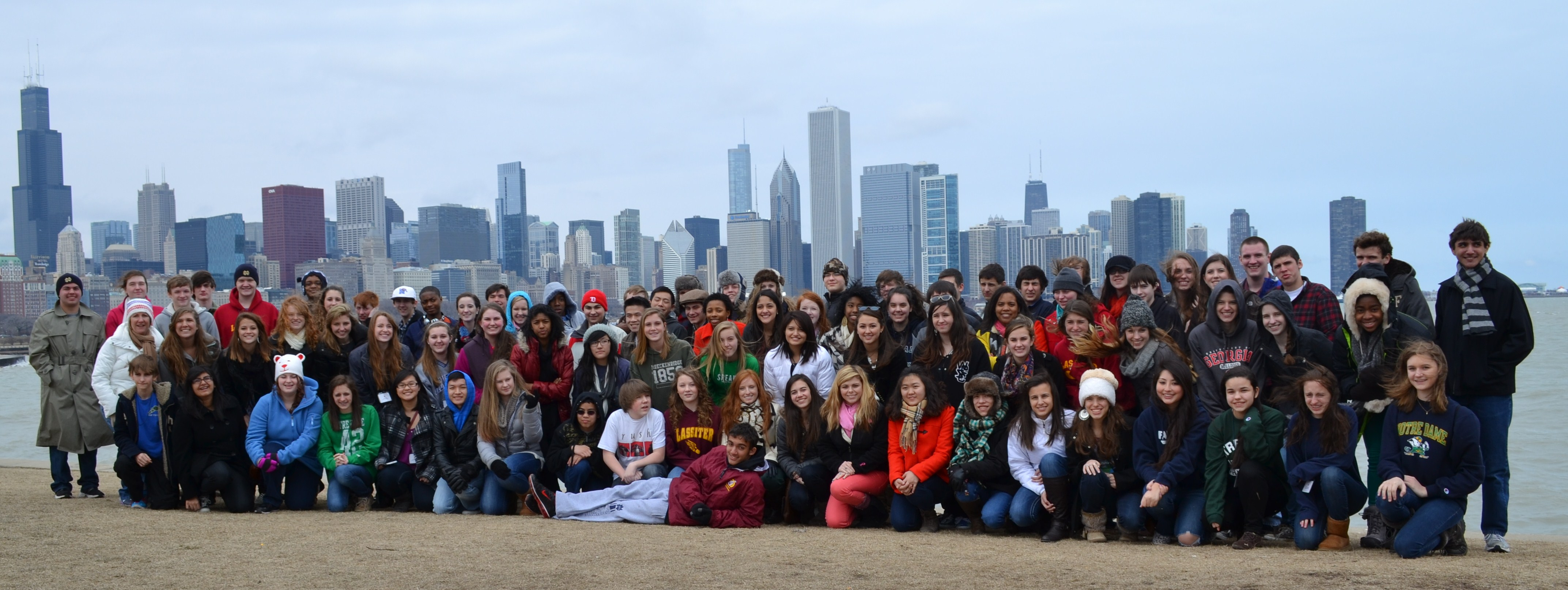 LHS Orchestra in Chicago March 2013