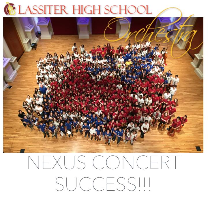Nexus Concert Success